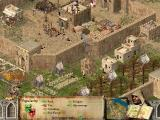 FireFly Studios' Stronghold Crusader Windows Popularity affects the gameplay. Peasants will soon leave your castle if the popularity falls below 0.