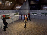 Tomb Raider: Chronicles Windows Two against one.. no problem