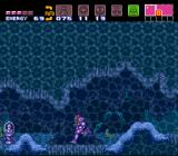 Super Metroid SNES With the Gravity Suit you can move freely underwater