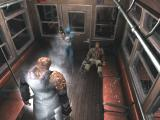 Resident Evil 3: Nemesis Windows Jill defends the wounded Lt. Mikhail from Nemesis aboard the cable car