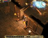 """Titan Quest Windows Some """"dungeon"""" in Egypt... I hate the maggots."""