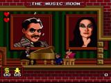 The Addams Family SNES The pianist ignores Mr. Addams completely