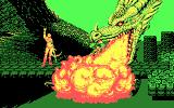 Golden Axe DOS Gameplay in 4-color CGA - note the quality of dithering