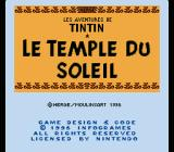 The Adventures of Tintin: Prisoners of the Sun SNES Copyright notice