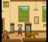 The Adventures of Tintin: Prisoners of the Sun SNES The story starts off in a museum.