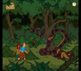 The Adventures of Tintin: Prisoners of the Sun SNES Hit the snake before it bites you!