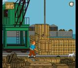 The Adventures of Tintin: Prisoners of the Sun SNES You have to find tools to repair the crane.