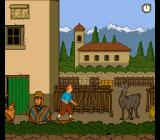 The Adventures of Tintin: Prisoners of the Sun SNES Beware of spitting lamas!