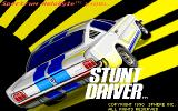 Stunt Driver DOS Title Screen