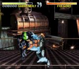 Killer Instinct SNES Sabrewulf about to be punished by Fulgore