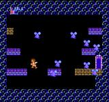 Kid Icarus NES These enemies looks like noses with eyes and a moustache. I would classify them as the most bizarre monster in the game...