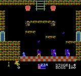 Kid Icarus NES Meet the eggplant wizards. They can transform you into an eggplant. You can't use your bow in that state, and have to visit a hospital to cure yourself.