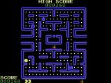 DacMan ColecoVision I ate a power pellet and the ghosts turned blue.