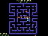 DacMan ColecoVision I lost my last life. Game over.