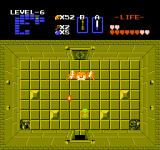 The Legend of Zelda NES Ghoma must be hit in his eye with an arrow, not as easy as it sounds...