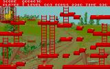 Chuckie Egg Atari ST A level with an elevator