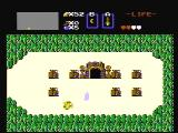 The Legend of Zelda NES The entrance to a labyrinth