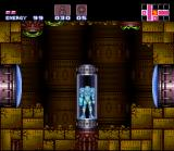Super Metroid SNES Save spots are scattered throughout the world to record your progress