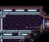 Super Metroid SNES Hmm... will a rocket work against that barrier?