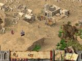 Stronghold Crusader Extreme Windows A small settlement.
