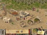 Stronghold Crusader Extreme Windows Weapon production is running.