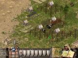 Stronghold Crusader Extreme Windows Attacking enemy horse archers.