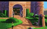 King's Quest VI: Heir Today, Gone Tomorrow Amiga Outside of the castle.