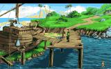 King's Quest VI: Heir Today, Gone Tomorrow Amiga An old ship is here.