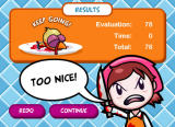 Cooking Mama: Mama Kills Animals Browser Evaluation after a game