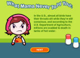 Cooking Mama: Mama Kills Animals Browser Did mama tell you this?