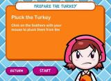 Cooking Mama: Mama Kills Animals Windows Instructions on plucking the feathers. Each stage has these type of instructions.