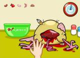 Cooking Mama: Mama Kills Animals Windows Removing the internal organs.
