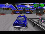 Daytona USA Windows The Expert track has some VERY sharp turns.