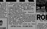 Special Forces Atari ST From the intro: Time for the Special Forces