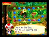 Mario Party Nintendo 64 Toad showing you where to get the next star.
