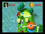 Mario Party Nintendo 64 Mini-Game Island map