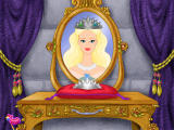 Barbie as Sleeping Beauty Windows The princess proudly wears the crown you create