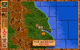 Vikings: Fields of Conquest - Kingdoms of England II DOS Your main castle on the map
