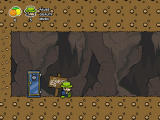 Super Mafia Land Browser Running around in a cave with Giuseppe.