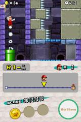 New Super Mario Bros. Nintendo DS Pipes can prove very useful!