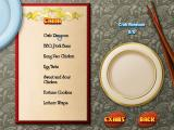 Cooking Academy 2: World Cuisine Windows Chinese menu