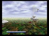 Panzer Dragoon SEGA Saturn Level 5 - Over a Forest