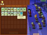 Plants vs. Zombies Windows Choosing the seeds for the next level.
