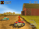 "Crazy Chicken Kart 2 Windows Racing in ""Moorhuhn X"" track"