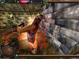 Dungeon Keeper 2 Windows In first-person mode after possessing a creature, hacking at an enemy.