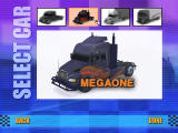 Big Rigs: Over the Road Racing Windows Megaone, one of the available trucks
