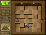 Mummy Maze Deluxe Windows The mummy and the scorpion get into a fight.