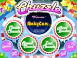 Chuzzle: Christmas Edition Windows Title screen and main menu
