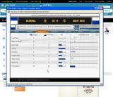 Championship Manager Online Browser Match view