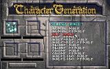 Eye of the Beholder DOS Character Generation
